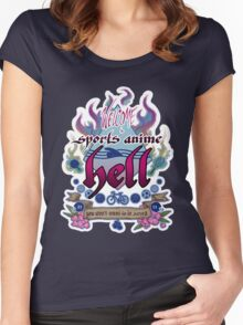 Sports Anime Hell Women's Fitted Scoop T-Shirt