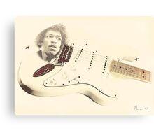 Jimmy Hendrix Stratocaster Canvas Print