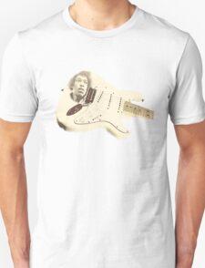 Jimmy Hendrix Stratocaster Unisex T-Shirt