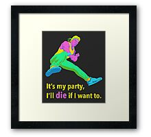 It's My Party Framed Print