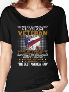 Veteran shirt Women's Relaxed Fit T-Shirt
