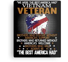 Veteran shirt Metal Print