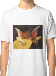 Rosso Fiorentino - Musical Angel 1522. Child portrait: cute baby, kid, children, angel, child, kids, lovely family, boys and girls, boy and girl, mom mum mammy mam, childhood Classic T-Shirt