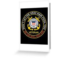 Veteran Tshirt Greeting Card