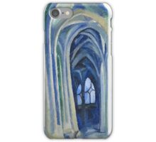 Robert Delaunay - Saint-Severin. Abstract painting: abstraction, geometric, expressionism, composition, lines, forms, creative fusion, music, kaleidoscope, illusion, fantasy future iPhone Case/Skin