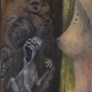 Dismissal- oil on canvas by resonanteye