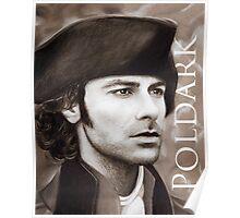 Aidan Turner - Ross Poldark - Pastel Portrait 2 Poster
