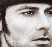 Aidan Turner - Ross Poldark - Pastel Portrait 2 Sticker