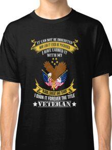 Veterans tshirt Classic T-Shirt