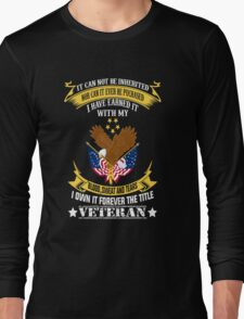 Veterans tshirt Long Sleeve T-Shirt