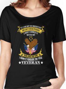 Veterans tshirt Women's Relaxed Fit T-Shirt