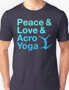 P&L&A.Y. (blue) Unisex T-Shirt
