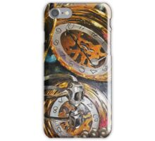 Vanitastic- watch, pearls and skull ring reflected in mirrors iPhone Case/Skin