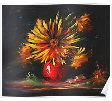 Sun in a Flower Poster