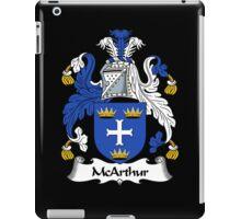 McArthur Coat of Arms / McArthur Family Crest iPad Case/Skin