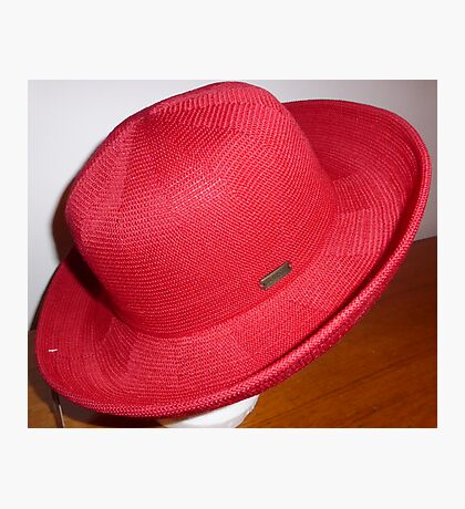 Red Hat For Lorraine Photographic Print