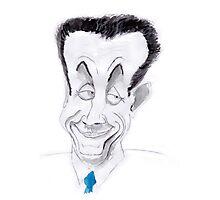 Nicolas Sarkozy Photographic Print