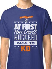 OKC Thunder - Pass To KD Classic T-Shirt