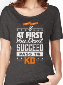 OKC Thunder - Pass To KD Women's Relaxed Fit T-Shirt