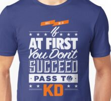 OKC Thunder - Pass To KD Unisex T-Shirt