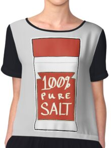 100% Pure Salt Chiffon Top