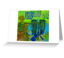 Looking for The Drummer Greeting Card