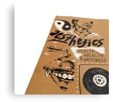 DOODLES Metal Print