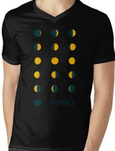 Moon Phases (Persona 3) Mens V-Neck T-Shirt
