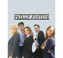Philly Justice Photographic Print