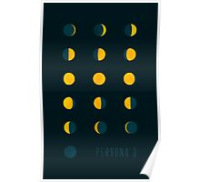 Moon Phases (Persona 3) Poster