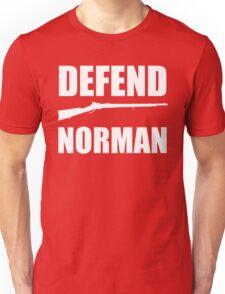 """OU Sooners - """"Defend Norman"""" Unisex T-Shirt"""