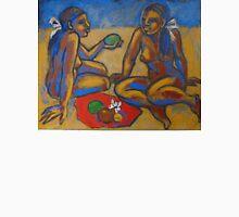 Two Women On The Beach - Femal Nude Unisex T-Shirt