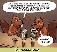 Jokes Beaver Tell Each Other by Rick  London