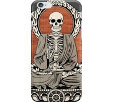 Skeleton Buddha iPhone Case/Skin