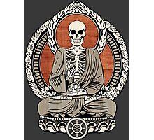 Skeleton Buddha Photographic Print