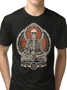 Skeleton Buddha Tri-blend T-Shirt
