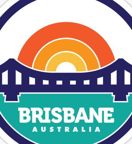 Brisbane, Australia Logo Design Sticker
