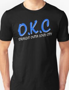OKC Thunder - Straight Outta N.W.A. Parody T-Shirt
