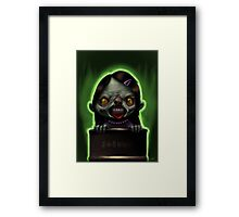 Trioxin Tracy Framed Print
