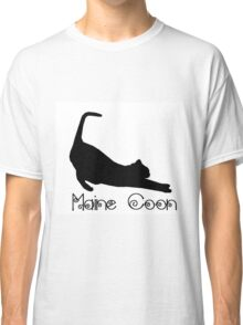 Maine Coon Cat Classic T-Shirt