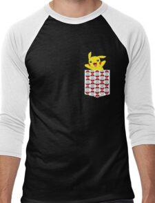 Poketemon Men's Baseball ¾ T-Shirt