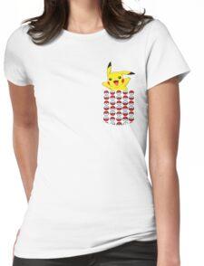 Poketemon Womens Fitted T-Shirt