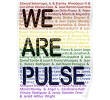 We Are Pulse Poster