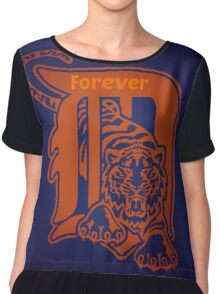 Detroit Tigers Forever. Chiffon Top
