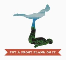Put a front plank on it by spreadtheweird