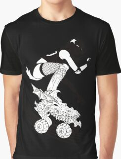 Skates of Wrath Graphic T-Shirt