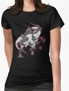Cyber-Saurs: Tyrannozaurus Womens Fitted T-Shirt