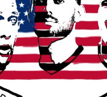 Stars of USA for World Cup 2014 Sticker