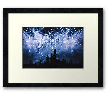 Sleeping Beauty Castle Framed Print