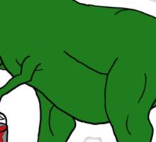 Picassosaurus Rex Sticker